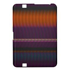 Curvy Stripes       kindle Fire Hd 8 9  Hardshell Case by LalyLauraFLM