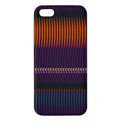 Curvy Stripes       iphone 5s Premium Hardshell Case by LalyLauraFLM