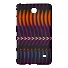 Curvy Stripes       			samsung Galaxy Tab 4 (7 ) Hardshell Case by LalyLauraFLM