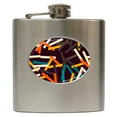 Sticks          hip Flask (6 Oz) by LalyLauraFLM