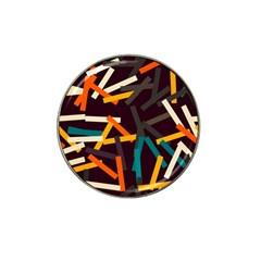 Sticks          hat Clip Ball Marker by LalyLauraFLM