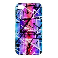 Multicolor Geometric Grunge Apple Iphone 4/4s Premium Hardshell Case by dflcprints