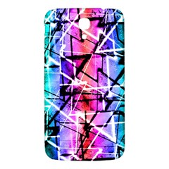 Multicolor Geometric Grunge Samsung Galaxy Mega I9200 Hardshell Back Case by dflcprints