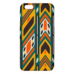 Distorted Shapes In Retro Colors   			iphone 6 Plus/6s Plus Tpu Case by LalyLauraFLM