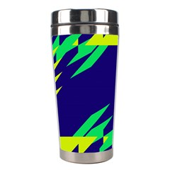 3 Colors Shapes    Stainless Steel Travel Tumbler by LalyLauraFLM
