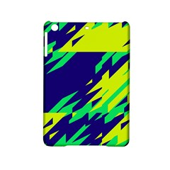 3 colors shapes    Apple iPad Mini 2 Hardshell Case by LalyLauraFLM