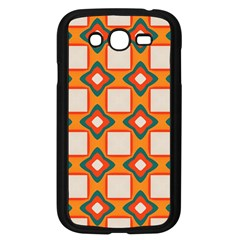 Flowers and squares pattern     Samsung Galaxy Grand DUOS I9082 Case (Black) by LalyLauraFLM