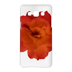 Red Rose Photo Samsung Galaxy A5 Hardshell Case  by dflcprints