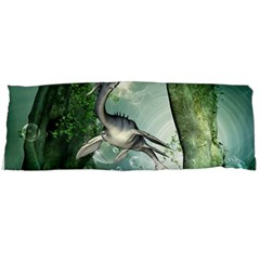 Awesome Seadraon In A Fantasy World With Bubbles Body Pillow Case (dakimakura) by FantasyWorld7