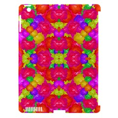 Multicolor Floral Check Apple Ipad 3/4 Hardshell Case (compatible With Smart Cover) by dflcprints