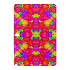 Multicolor Floral Check Samsung Galaxy Tab Pro 12 2 Hardshell Case by dflcprints