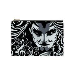 Musical Catman Cosmetic Bag (medium) by DryInk