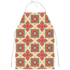 Floral Pattern  			full Print Apron by LalyLauraFLM