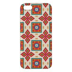 Floral Pattern  			apple Iphone 5 Premium Hardshell Case by LalyLauraFLM