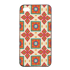 Floral Pattern  			apple Iphone 4/4s Seamless Case (black) by LalyLauraFLM