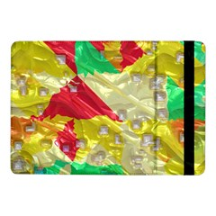 Colorful 3d Texture   samsung Galaxy Tab Pro 10 1  Flip Case by LalyLauraFLM