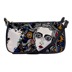 Flower woman Evening Bag by DryInk