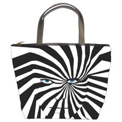 ZEBRA Bucket Handbag by DryInk