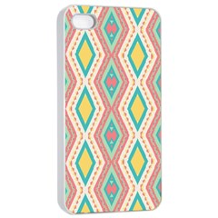 Rhombus Chains       			apple Iphone 4/4s Seamless Case (white) by LalyLauraFLM