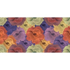 Vintage Floral Collage Pattern You Are Invited 3d Greeting Card (8x4)  by dflcprints
