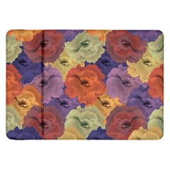 Vintage Floral Collage Pattern Samsung Galaxy Tab 8 9  P7300 Flip Case by dflcprints