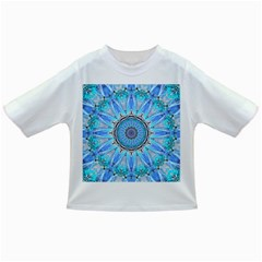 Sapphire Ice Flame, Light Bright Crystal Wheel Infant/toddler T Shirts by DianeClancy