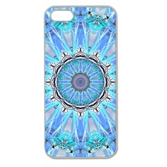 Sapphire Ice Flame, Light Bright Crystal Wheel Apple Seamless Iphone 5 Case (clear) by DianeClancy