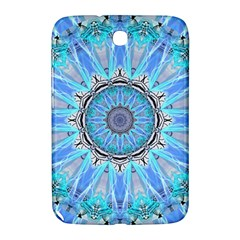 Sapphire Ice Flame, Light Bright Crystal Wheel Samsung Galaxy Note 8 0 N5100 Hardshell Case  by DianeClancy