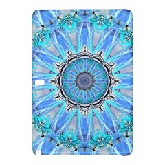 Sapphire Ice Flame, Light Bright Crystal Wheel Samsung Galaxy Tab Pro 12 2 Hardshell Case by DianeClancy