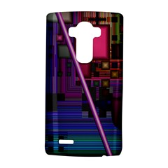 Jewel City, Radiant Rainbow Abstract Urban Lg G4 Hardshell Case by DianeClancy