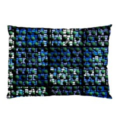 Looking Out At Night, Abstract Venture Adventure (venture Night Ii) Pillow Case by DianeClancy