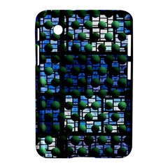 Looking Out At Night, Abstract Venture Adventure (venture Night Ii) Samsung Galaxy Tab 2 (7 ) P3100 Hardshell Case  by DianeClancy