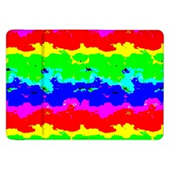 Colorful Digital Abstract  Samsung Galaxy Tab 8 9  P7300 Flip Case by dflcprints