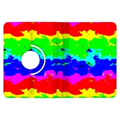 Colorful Digital Abstract  Kindle Fire Hdx Flip 360 Case by dflcprints