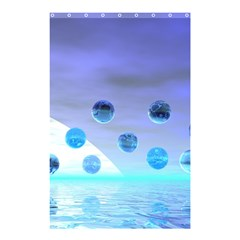 Moonlight Wonder, Abstract Journey To The Unknown Shower Curtain 48  X 72  (small)  by DianeClancy