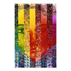 Conundrum I, Abstract Rainbow Woman Goddess  Shower Curtain 48  X 72  (small)  by DianeClancy