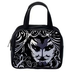Musical Catman Classic Handbag Classic Handbag (one Side) by DryInk