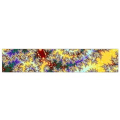 Desert Winds, Abstract Gold Purple Cactus  Flano Scarf (small) by DianeClancy