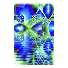 Irish Dream Under Abstract Cobalt Blue Skies Shower Curtain 48  X 72  (small)  by DianeClancy