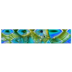 Mystical Spring, Abstract Crystal Renewal Flano Scarf (small) by DianeClancy