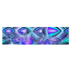 Peacock Crystal Palace Of Dreams, Abstract Satin Scarf (oblong) by DianeClancy
