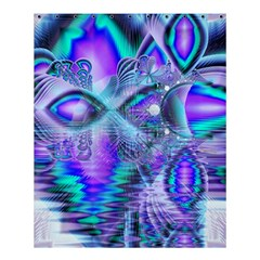 Peacock Crystal Palace Of Dreams, Abstract Shower Curtain 60  X 72  (medium)  by DianeClancy