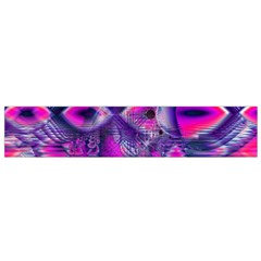 Rose Crystal Palace, Abstract Love Dream  Flano Scarf (small) by DianeClancy