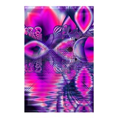 Rose Crystal Palace, Abstract Love Dream  Shower Curtain 48  X 72  (small)  by DianeClancy