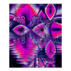 Rose Crystal Palace, Abstract Love Dream  Shower Curtain 60  X 72  (medium)  by DianeClancy