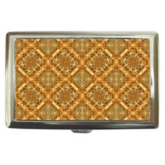 Luxury Check Ornate Pattern Cigarette Money Cases by dflcprints