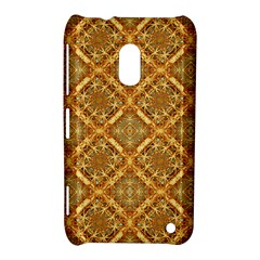 Luxury Check Ornate Pattern Nokia Lumia 620 by dflcprints