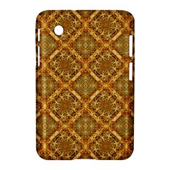 Luxury Check Ornate Pattern Samsung Galaxy Tab 2 (7 ) P3100 Hardshell Case  by dflcprints