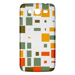 Rectangles And Squares In Retro Colors  			samsung Galaxy Mega 5 8 I9152 Hardshell Case by LalyLauraFLM