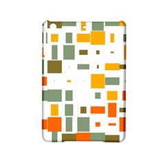 Rectangles And Squares In Retro Colors  			apple Ipad Mini 2 Hardshell Case by LalyLauraFLM